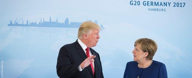 Am Rande des G 20 Gipfels in Hamburg